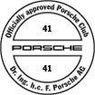 Officially approved Porsche Club 41